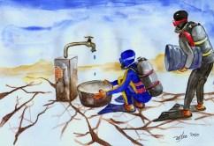 Water International Cartoonet contest Tehran 2010-wsleo